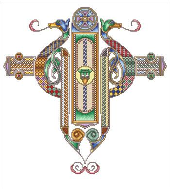 .Crosses Stitches Pattern, Irish Stitchery, Stitches Projects, Biscornu Crosses Stitches, Needle Work, Crosses Stitches Needlework, Lindisfarne Crosses, Crosses Stitchneedlework, Biscornucross Stitches