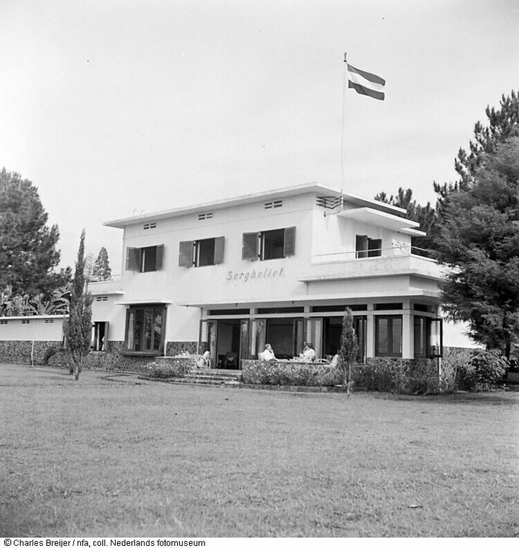 Villa Sorghvliet. Bandoeng 1949