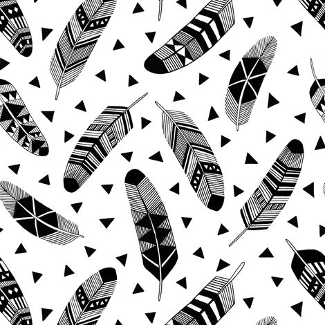 Feathers fabric by kimsa on Spoonflower - custom fabric make your own leggings with spoonflower' s new sport lyrca