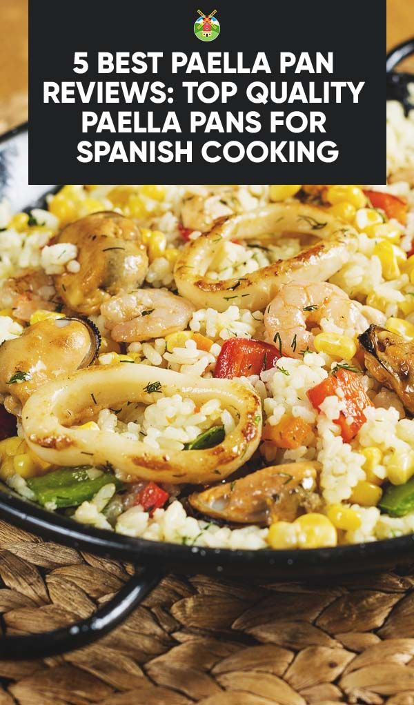 5 Best Paella Pan Reviews: Top Quality Paella Pans For Spanish Cooking