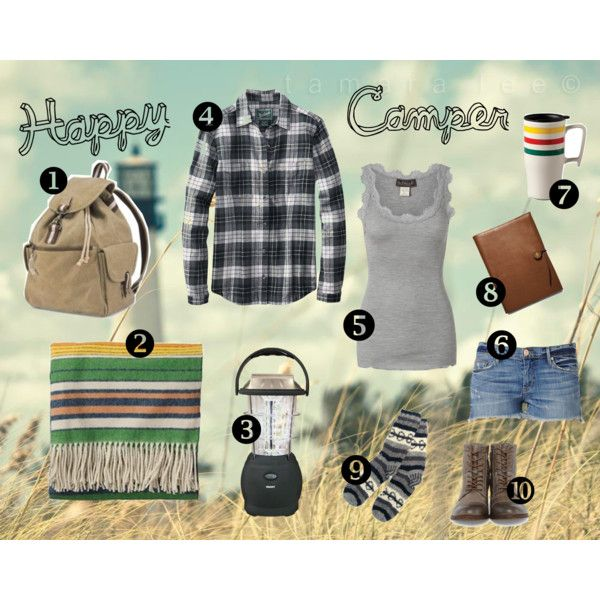 cute camping outfit :)