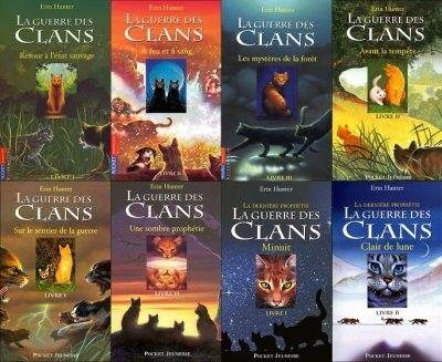 la guerre des clans | La guerre des clans est une série de livres (c'est ma préférée ...