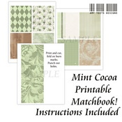 FREE Mint Cocoa Printable Matchbook