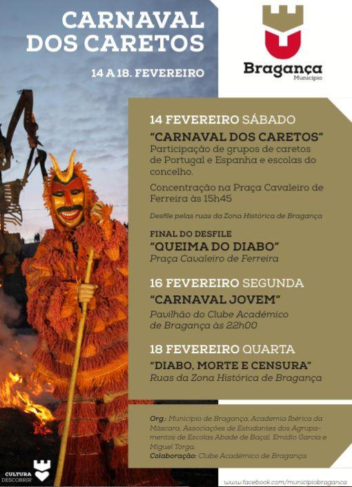 Carnaval dos Caretos em Bragança Decorre entre 14... | A. Montesinho Turismo