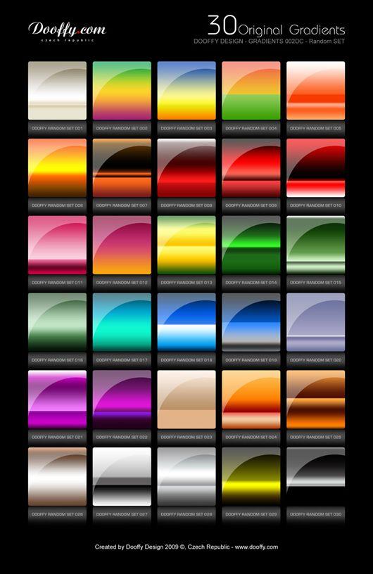 Best Photoshop Gradient Tutorials and Resources