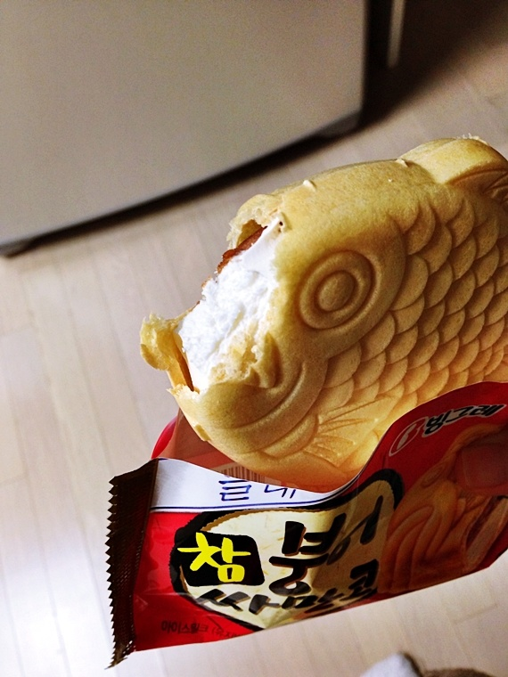124 best images about soul food on pinterest korean for Korean fish ice cream