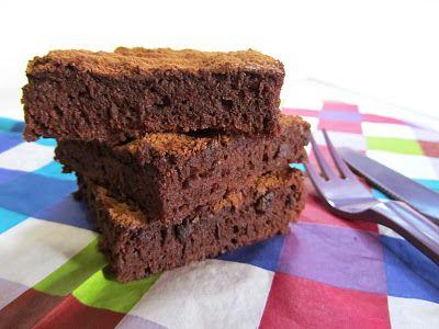 Ananás e Hortelã: Brownies de Trufa de Chocolate