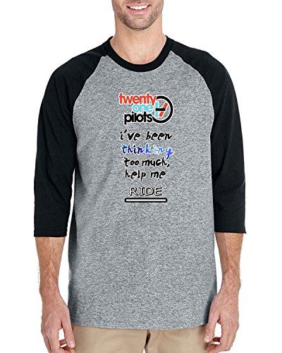 twenty one pilots i have been thinking 3/4 Sleeve Basebal... https://www.amazon.com/dp/B01HREF1KK/ref=cm_sw_r_pi_dp_WpzJxbKPVXYD2