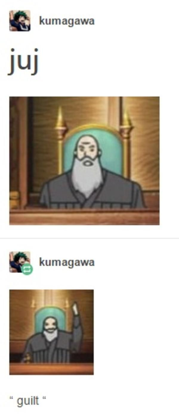 juj | Phoenix Wright: Ace Attorney | Know Your Meme
