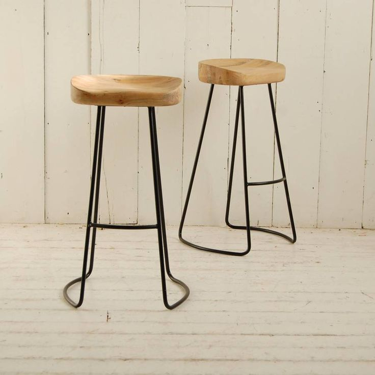 Are you interested in our wooden seat bar stool? With our metal legged breakfast stool you need look no further.