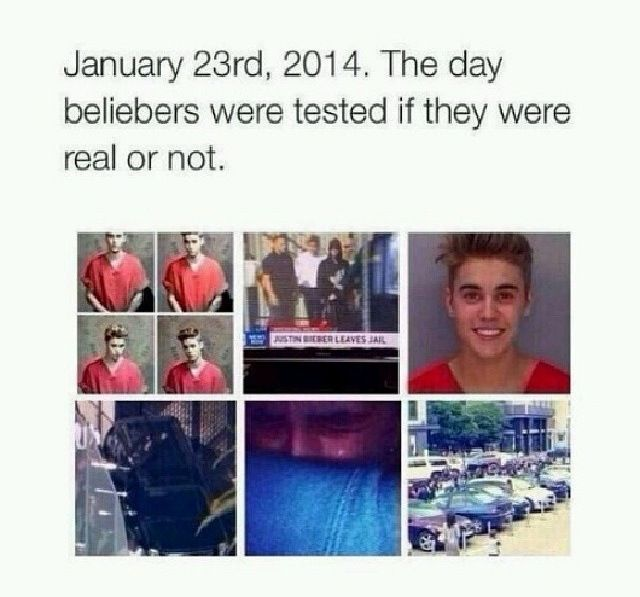 A hard day for Beliebers but if u stayed that means ur a true Belieber