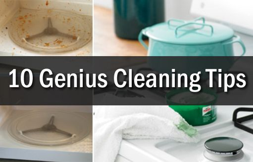Cleaning tips and tricks that will make your life easier.