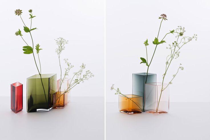 Ronan & Erwan Bouroullec for Iittala: Ruutu vase