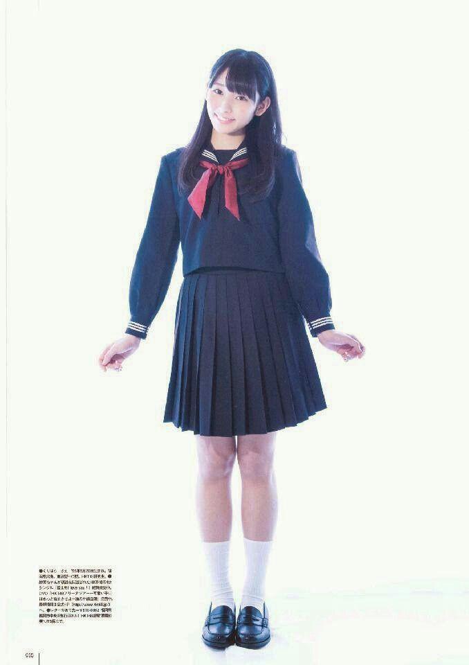 "HKT48 Sae Kurihara ""Hakko Hajimaru"" on UTB Magazine"