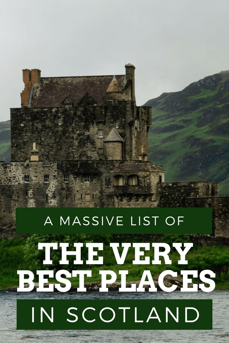 Best Places to Visit in Scotland Pinterest Pin