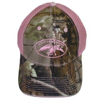 Duck Commander ~ Laides Pink and Camo 2 Tone Mesh ~ Duck Hunting Hat Cap Dynasty