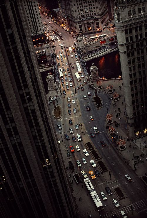 Above Michigan Ave., Chicago