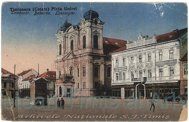 1928. Domul catolic din Piata Uniri