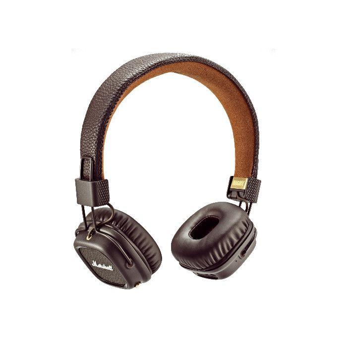 Marshall Casque audio bluetooth Major II Brown à 149,90 EUR sur lick.fr