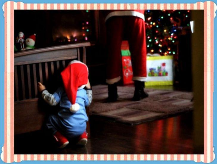 Μαμά, υπάρχει Άγιος Βασίλης