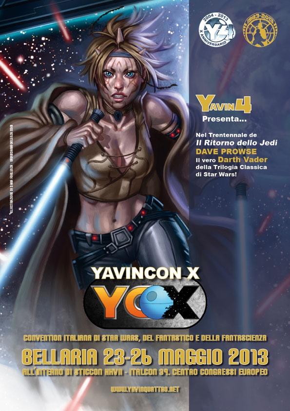 Yavin 4 - Il fan club italiano di Star Wars - Guerre Stellari, del Fantastico e della Fantascienza -  YavinCon X