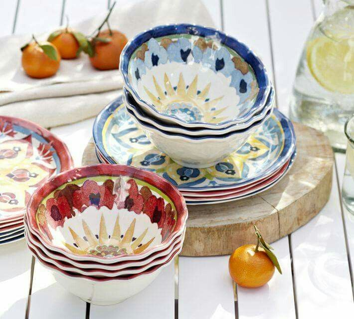 SheKnows Gift Guide Cabo Melamine Dinnerware Set of 4 & 9 best Le Cadeaux images on Pinterest | Gifts Melamine dinnerware ...