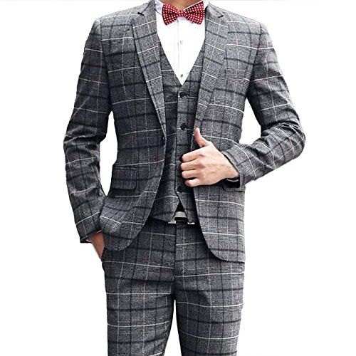 Tweed anzug kariert