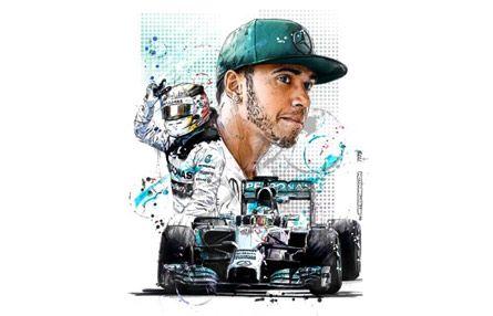 Lewis Hamilton Sketch