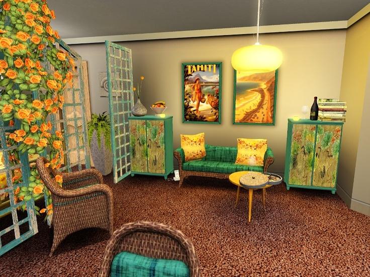 Maxis Mayhem challenge at Living Sims