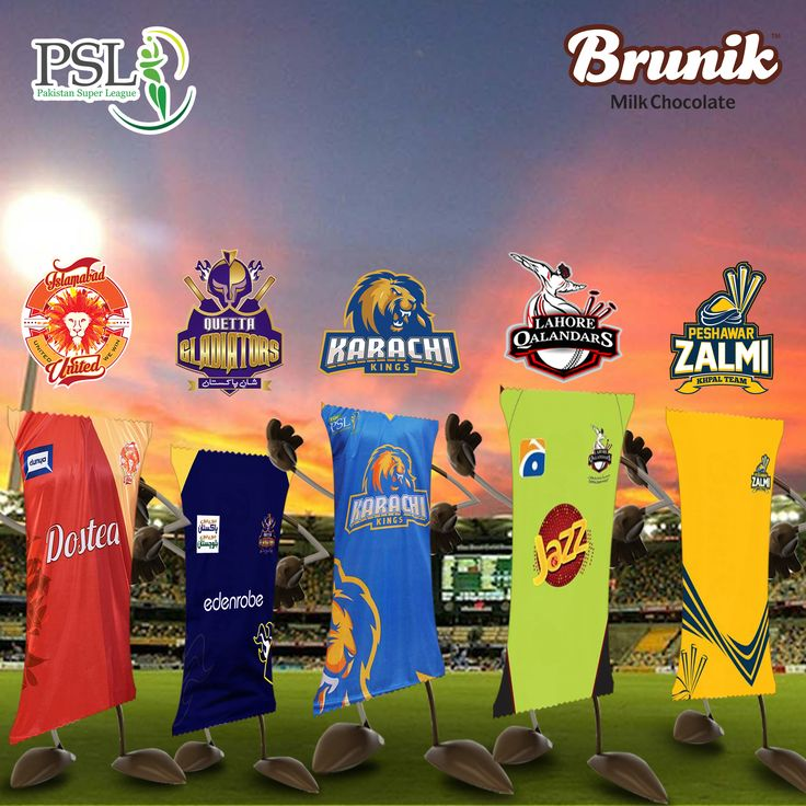Which #PSL Team is your favorite? Comment below. facebook.com www.six-b.com