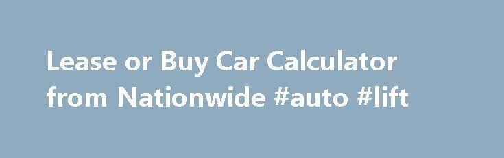auto loan vs lease calculator