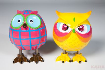 Money Box Angry Owl Assorted