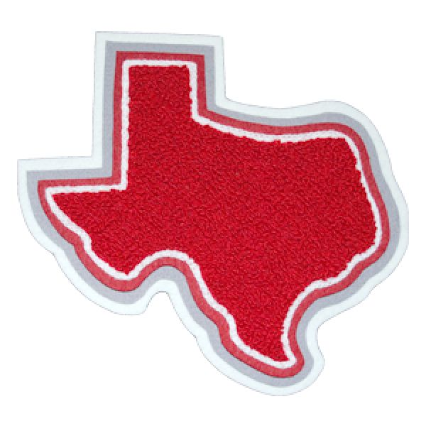 State of Texas patch for your letterman jacket