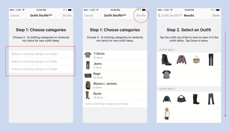 How To Generate Outfits Inside Stylebook
