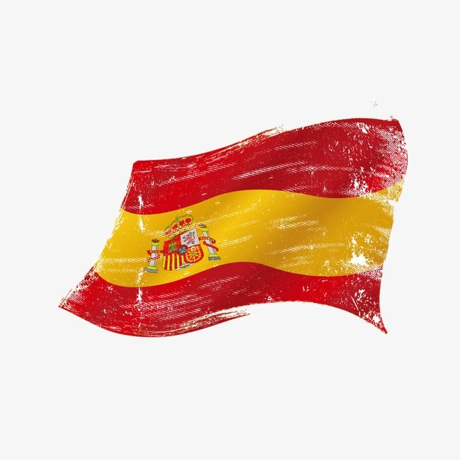 Spanish Flag Vector Material Spain Flag Vector Material Png Transparent Clipart Image And Psd File For Free Download Flag Vector Spanish Flags Spain Flag