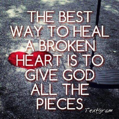 This can be hard to do BUT it's so worth it. Jesus can heal ANY wound!