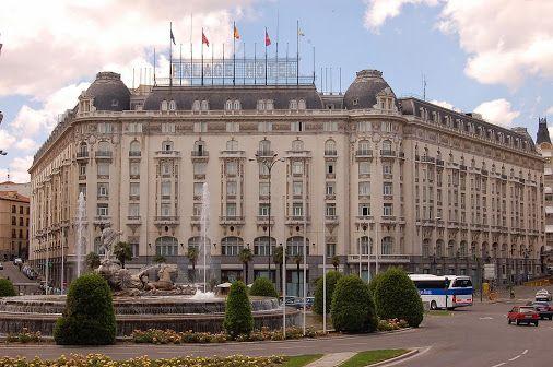 The Westin Palace Madrid is a luxury hotel located at Centro in Madrid, #Spain, on the Carrera de San Jerónimo, with exteriors to Plaza de Cánovas del Castillo, Calle del Duque de Medinaceli, and Plaza de las Cortes.