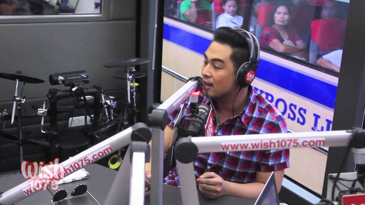 Jed Madela - Didn't We Almost Have It All (LIVE) on Wish FM 107.5 Bus HD