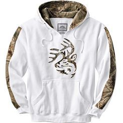 Men's Realtree Camo Outfitter Hoodie  deergear.com #LegendaryWhitetails