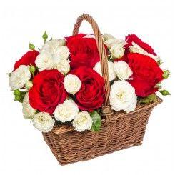 Aranjament flori de Sfantul Valentin