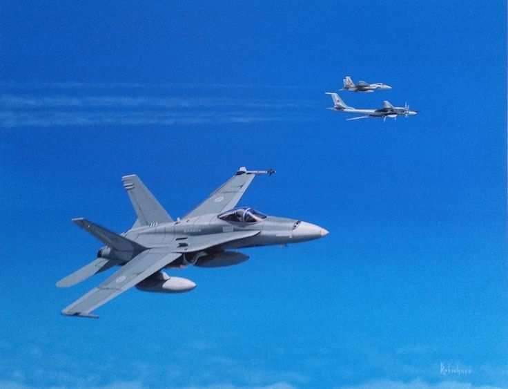 On April 28 1987, CF-18s from 425 Squadron, based in Bagotville Quebec but staging out of Gander Newfoundland, intercepted a Soviet TU-142 Bear F MOD 3. Once the target was identified and escorted out of the CADIZ, it was then handed off to their USAF partners- in this case - USAF F-15 from the 5th FIS staging out of Loring AFB Maine.