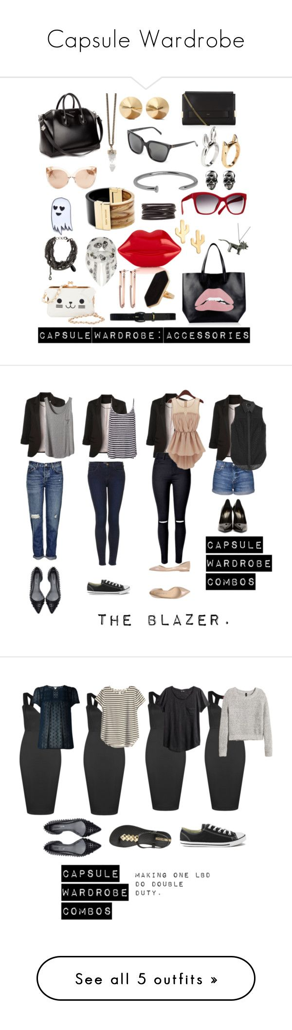 Capsule Wardrobe by xtasherx on Polyvore