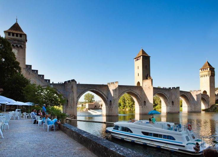 Lot, Cahors, Le pont Valentre