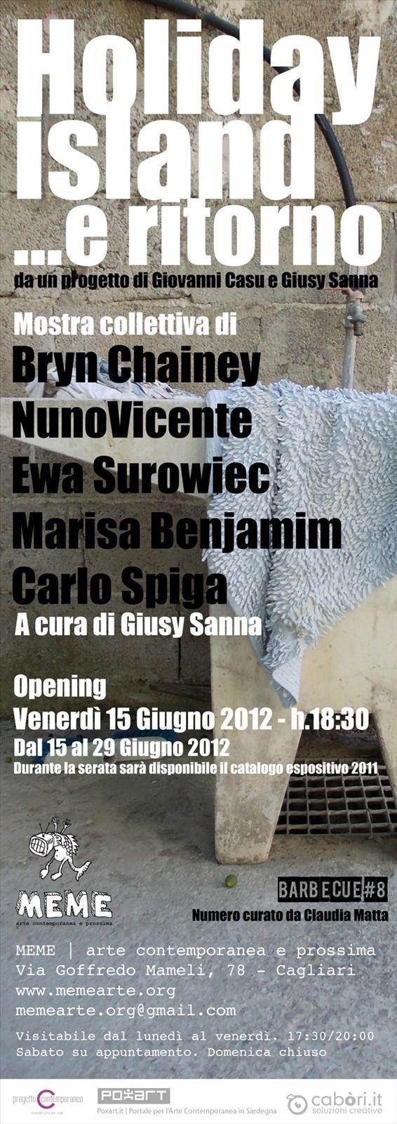 Holiday Island ...e ritorno al MEMe | arte contemporane a e prossima di Cagliari