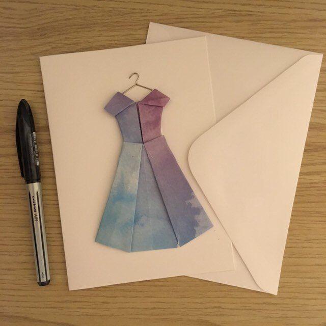 Доброе, фокус открытка оригами