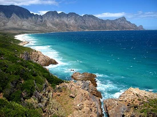 False Bay, South Africa -- I will swim with the Great White Sharks one day <3