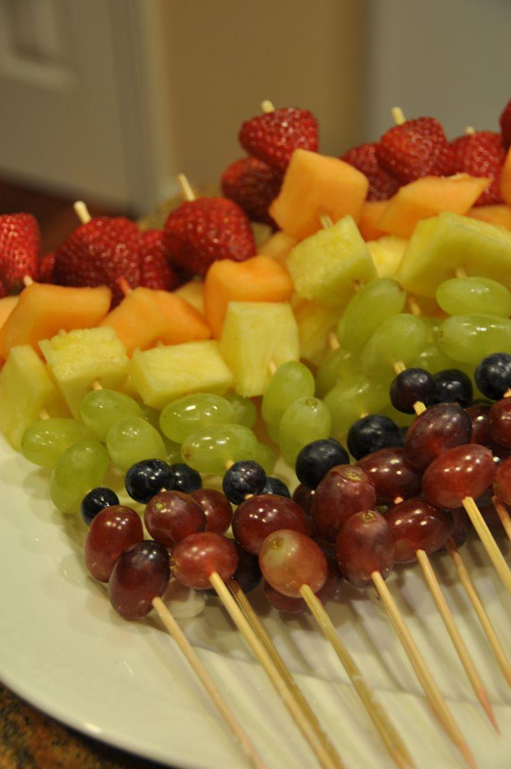 Kid's Birthday snack idea - HEALTHY instead of JUNKY ;)