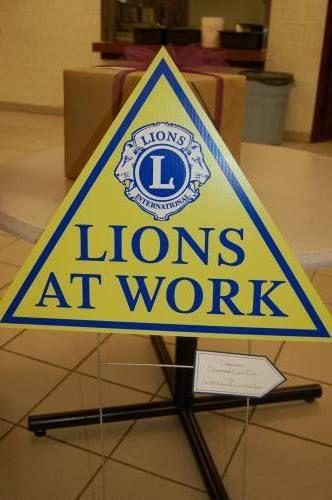 20 founding members kick off Crossroads Lions Club