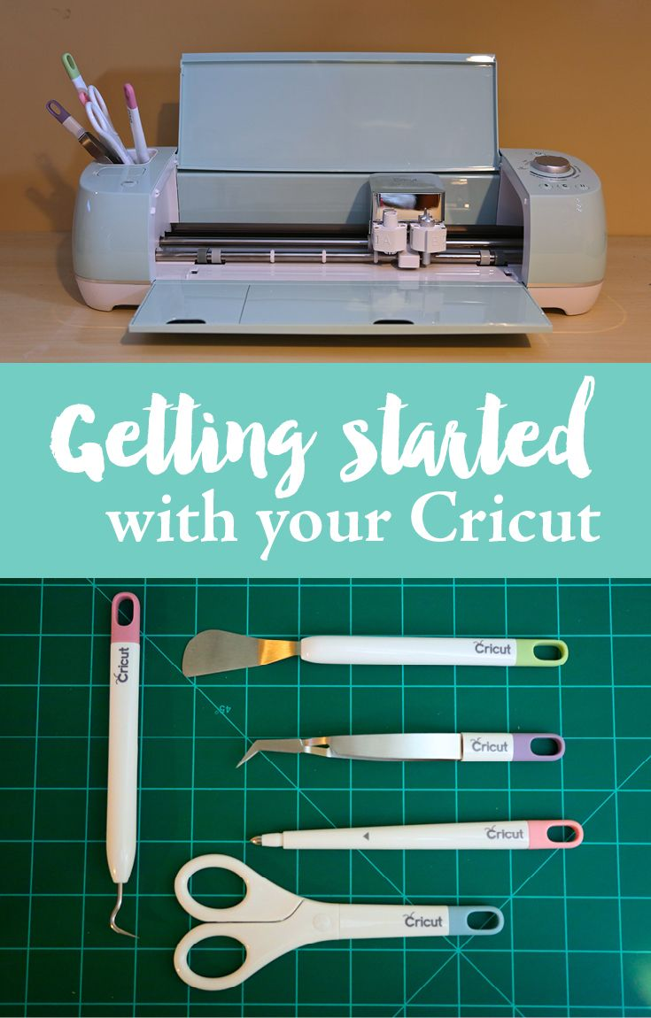 Getting started with your Cricut. A beginners guide to using your Cricut. Learn the basics on how to use your Cricut. Tutorial on how to cut on one mat and how to use layers. #CricutMade