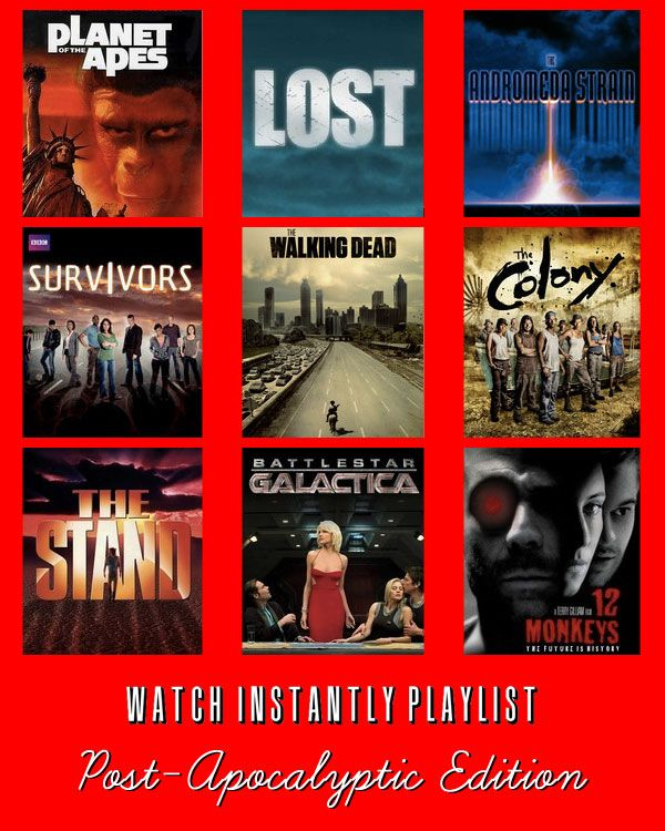 9 Post Apocalyptic Films available to Watch Instantly on Netflix